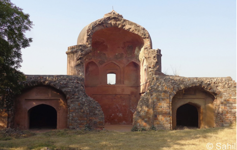 Salimgarh Fort Delhi